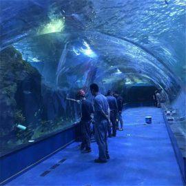Acrylic göng oceanarium verkefni í opinberum fiskabúrum
